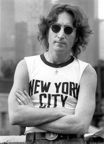 John Lennon - NYC T-shirt. NYC, 1974