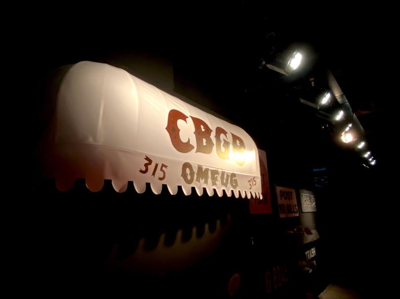 CBGB's installation