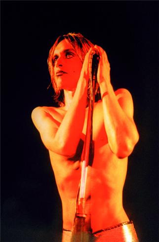 Iggy Pop. Raw Power Cover, 1972
