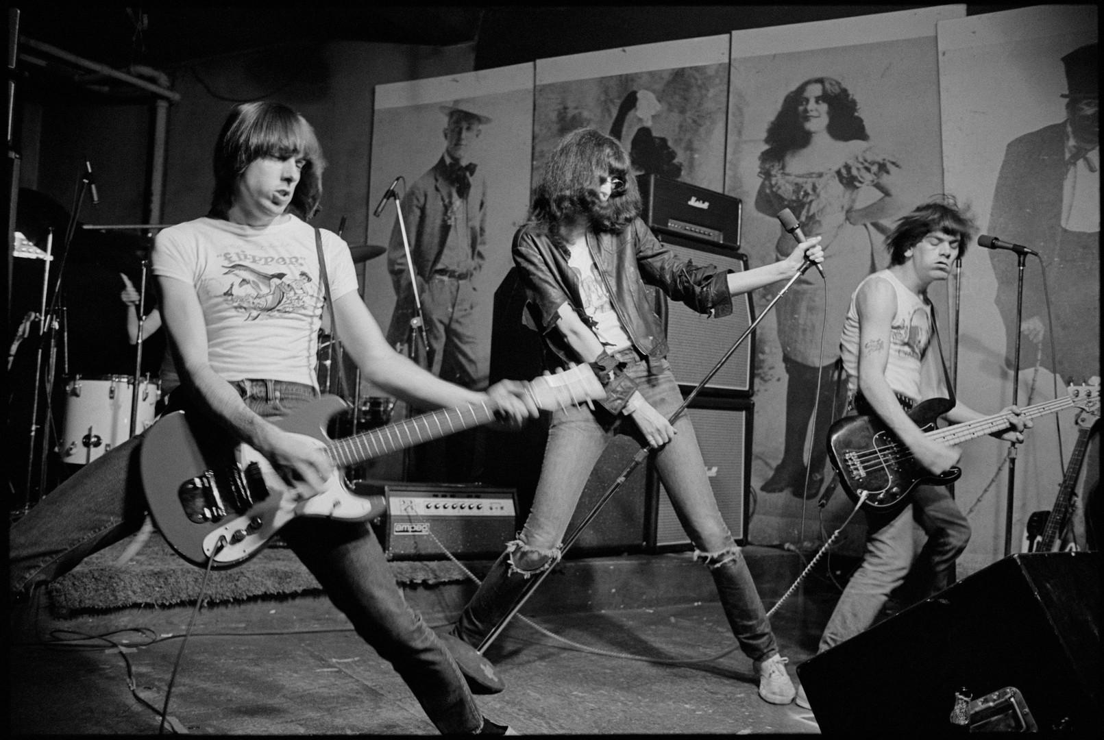 The Ramones. CBGBs - New York, 1976