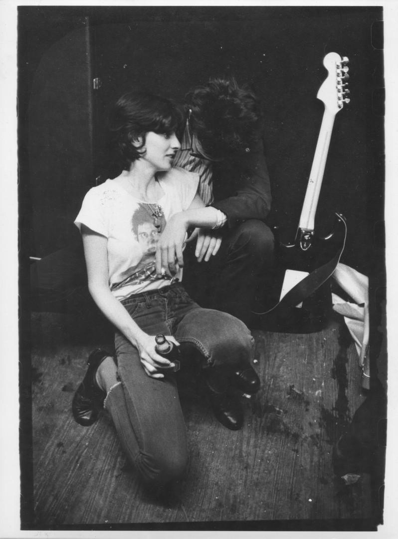 Susan Springfield and Richard Hell NYC