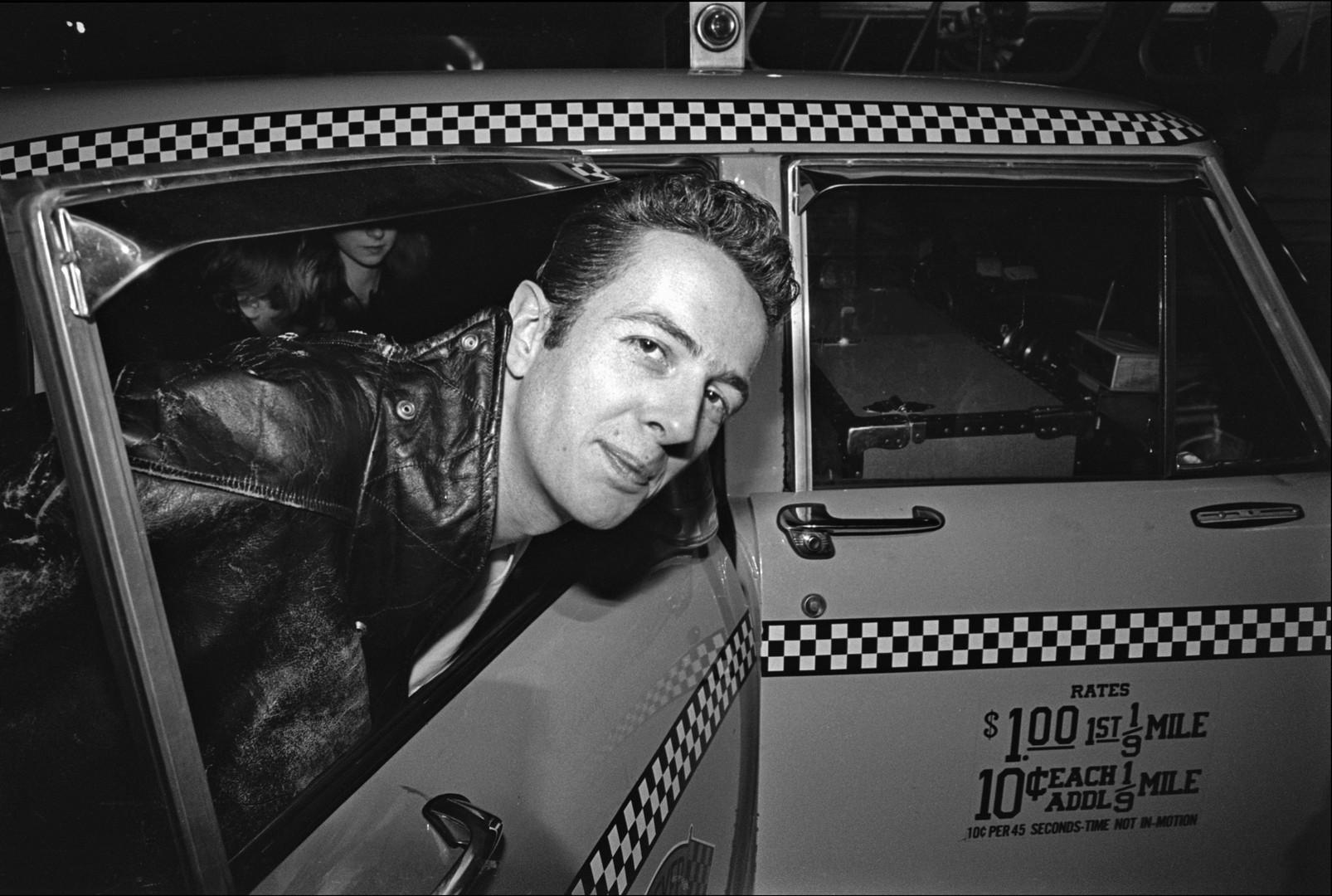The Clash. Joe arrives in a Taxi