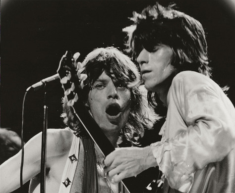 Mick Jagger & Keith Richards - On Stage/Close-up MSG, NYC 1972