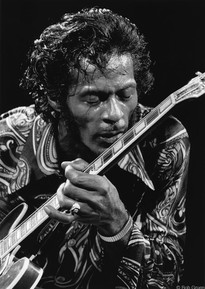 Chuck Berry - On Stage/Kissing Guitar MSG, NYC 1971
