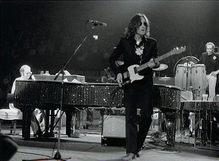 John Lennon and Elton John MSG, NYC 1974