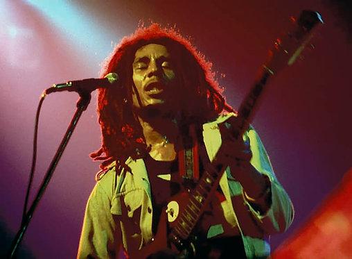 Bob Marley by Bob Gruen. NYC 1976