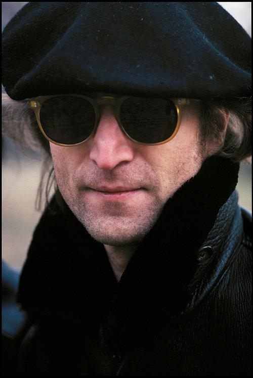 John Lennon in Central Park, NYC, November 21, 1980