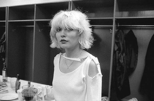 Debbie Harry (Blondie). Philadelphia 1978