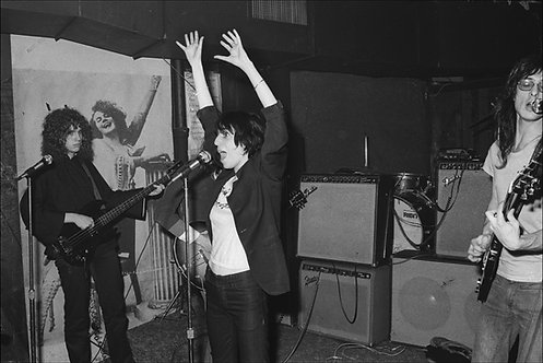 Patti Smith, CBGB, NYC, 1975