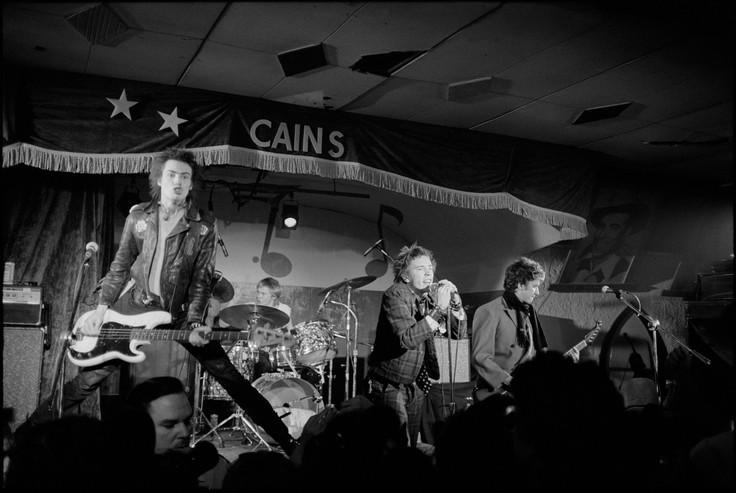 Sex Pistols. Cain's Ballroom. Tulsa - Oklahoma, 1978