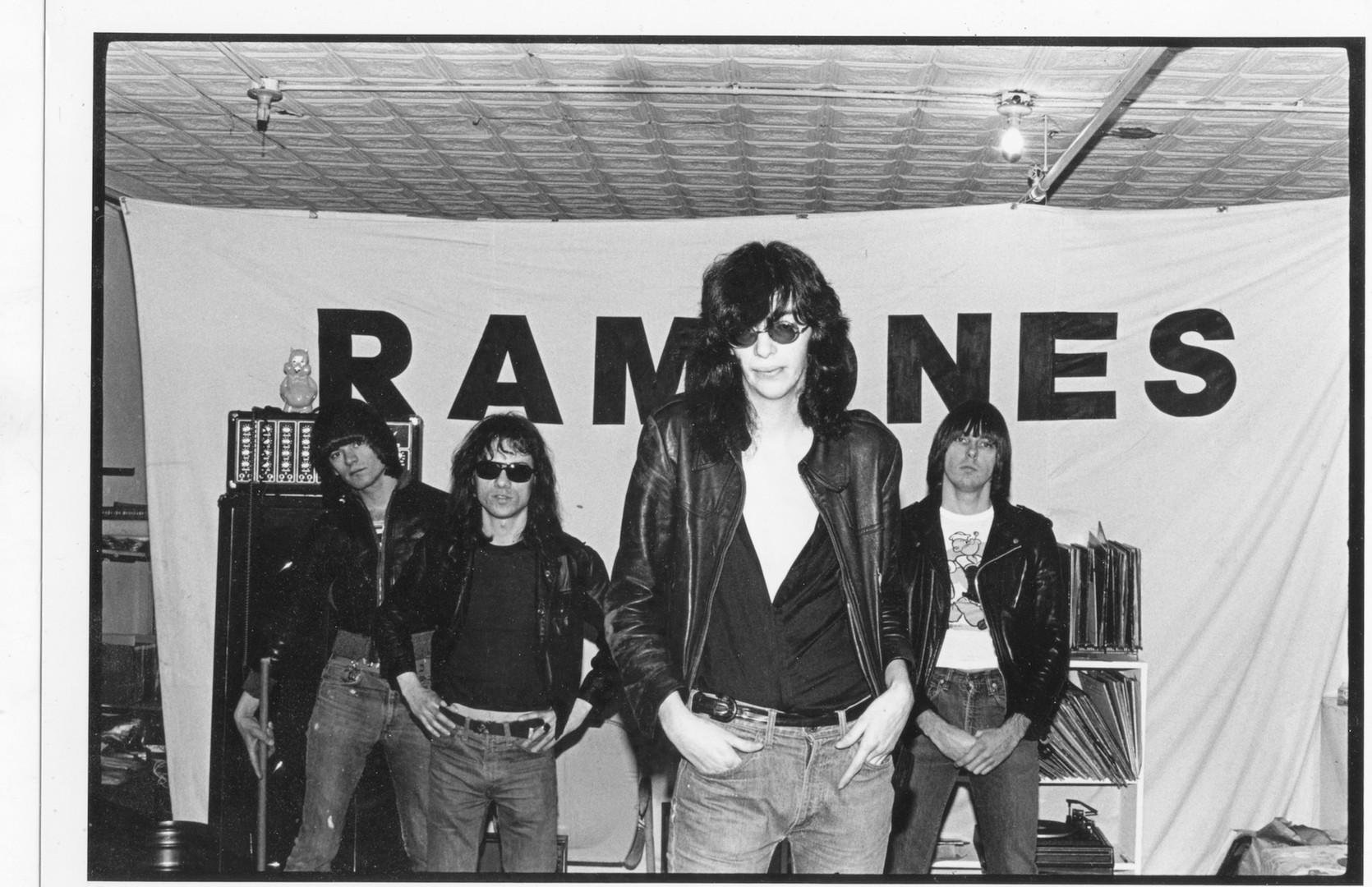 Ramones banner