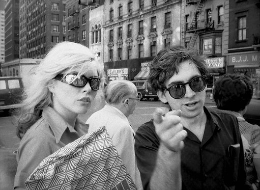 Debbie Harry and Chris Stein by Roberta Bayley. NYC, 1978