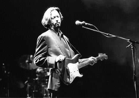 Eric Clapton by Ian Dickson. 1975