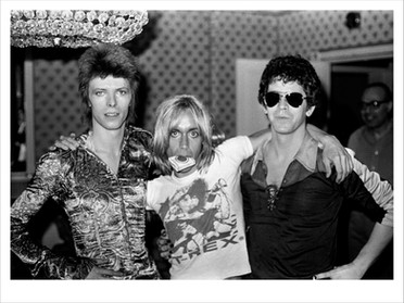 Bowie - Iggy - LouReed. Dorchester Hotel. London