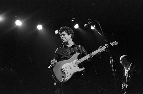 Lou Reed at The Bottom Line. New York, 1983