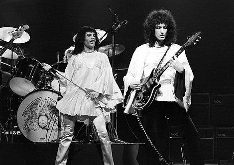 Freddie Mercury & Brian May - Queen