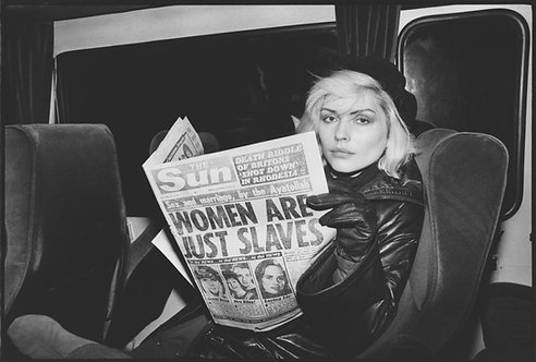 Debbie Harry in the late 1970s