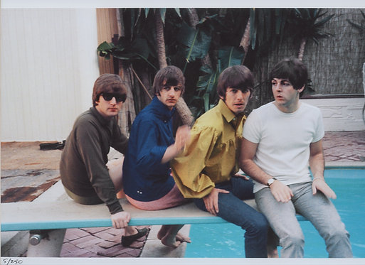 The Beatles in Bel Air, California - 1964