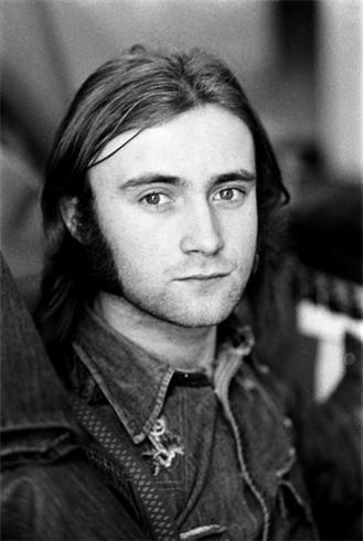 Phil Collins. London, 1974
