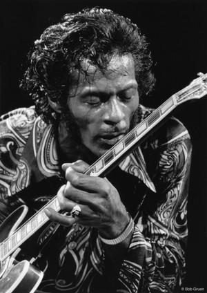 Chuck Berry. NYC, 1971