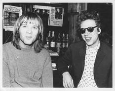Richard Hell and John Homstrom. CBGB'S. NYC, 1976