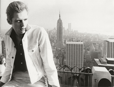 Paul Simonon of The Clash at Top of The Rock Top of The Rock, NYC 1981
