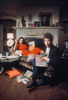 Bob Dylan and Sally Grossman, 1965