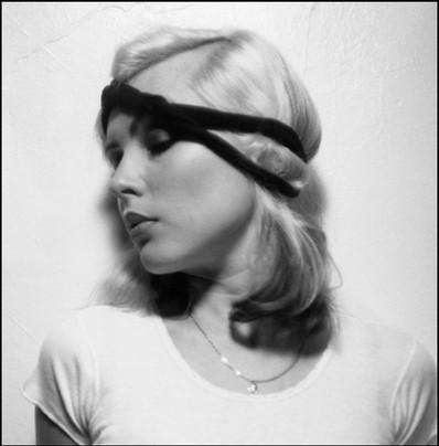 Debbie with headband