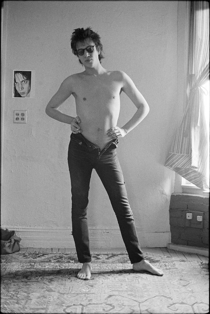 Richard Hell. New York, 1976