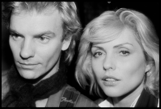 Sting and Debbie