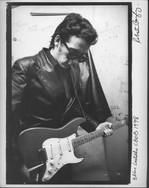Elvis Costello at CBGB'S. NYC, 1978