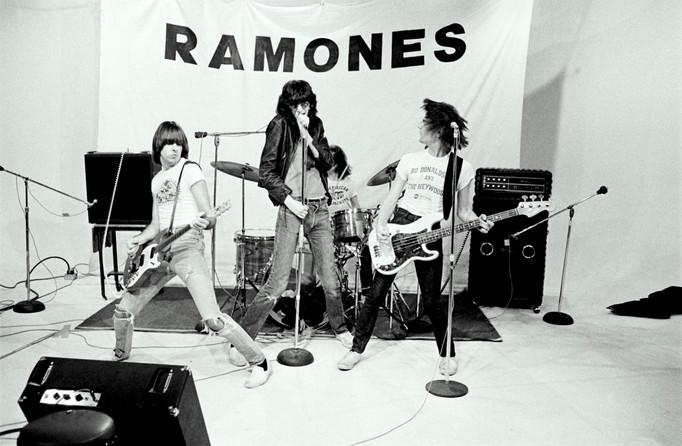 Ramones in Studio