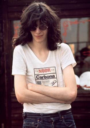 Joey Ramone in London. July, 1976