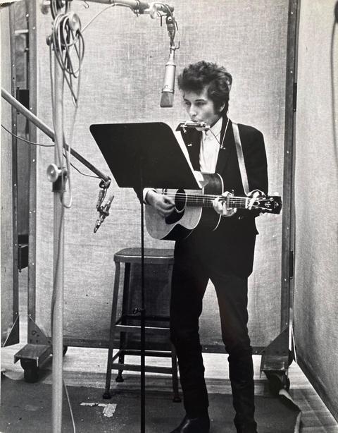Bob Dylan. New York, 1965