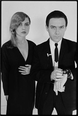 Debbie and Robert Fripp. NYC, Date unknown