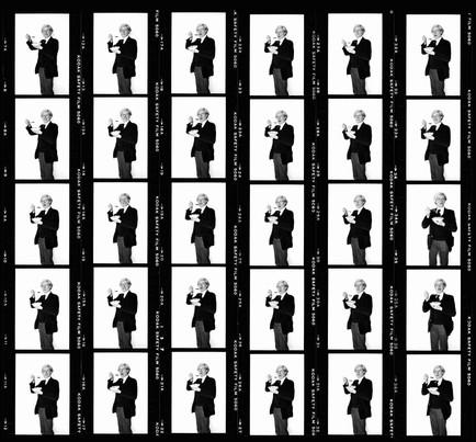 Andy Warhol Contact Sheet