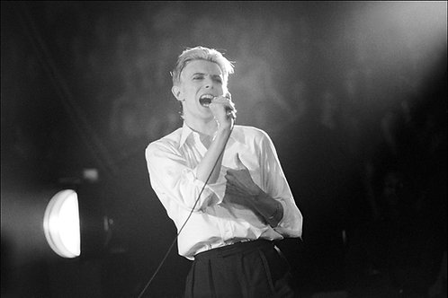 David Bowie, Madison Square Garden, NY, March, 1976