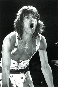 Mick Jagger - On Stage Gulping MSG, NYC 1972