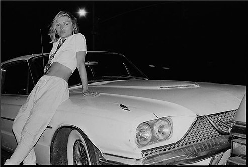 Debbie Harry, CBGB, NYC, 1975