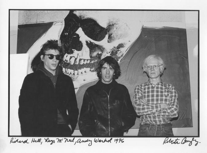 Richard Hell - Legs Mc Nail - Andy Warhol