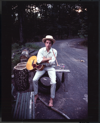 Bob Dylan. Woodstock, New York. 1968