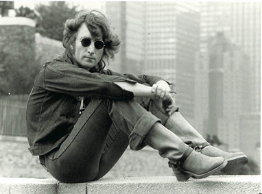 John Lennon - On Wall NYC 1974