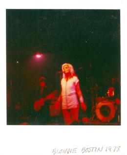 Blondie. Boston, 1978