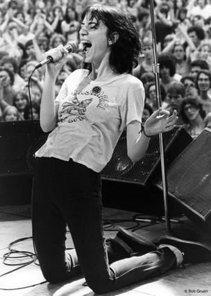 Patti Smith. NYC, 1976