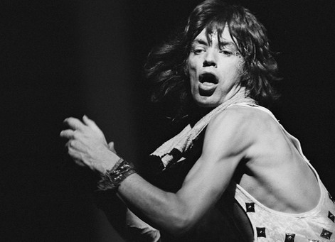 Mick Jagger - On Stage Profile. MSG, NYC. 1972