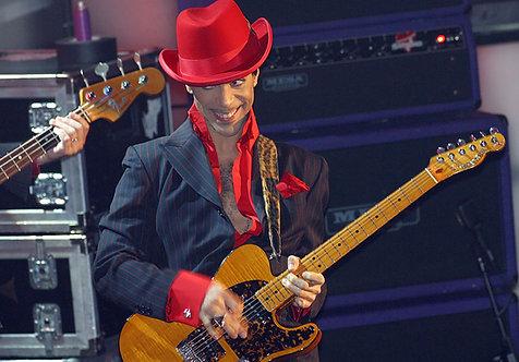 Prince by Bob Gruen. NYC, 2004