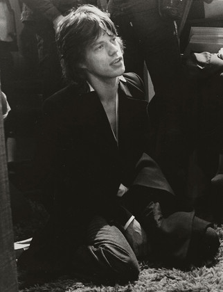 Mick Jagger - On Knees The Record Plant, NYC 1972
