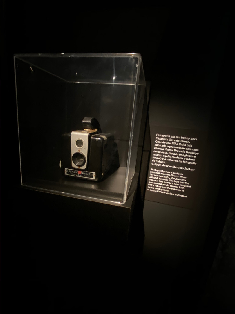 The first Bob's camera