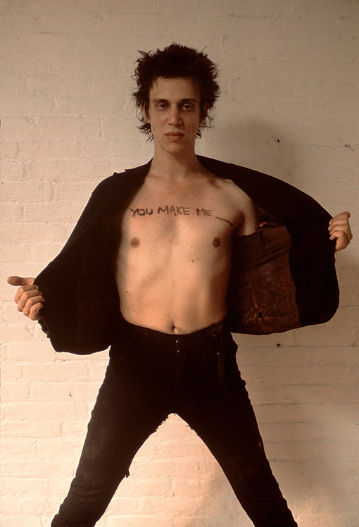 "Richard Hell by Roberta Bayley. Cover page ""Blank Generation"", 1977"