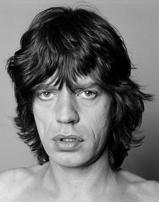 Mick Jagger. New York, c. 1980